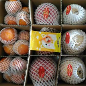 临潼石榴、火晶柿子、富士苹果混装版